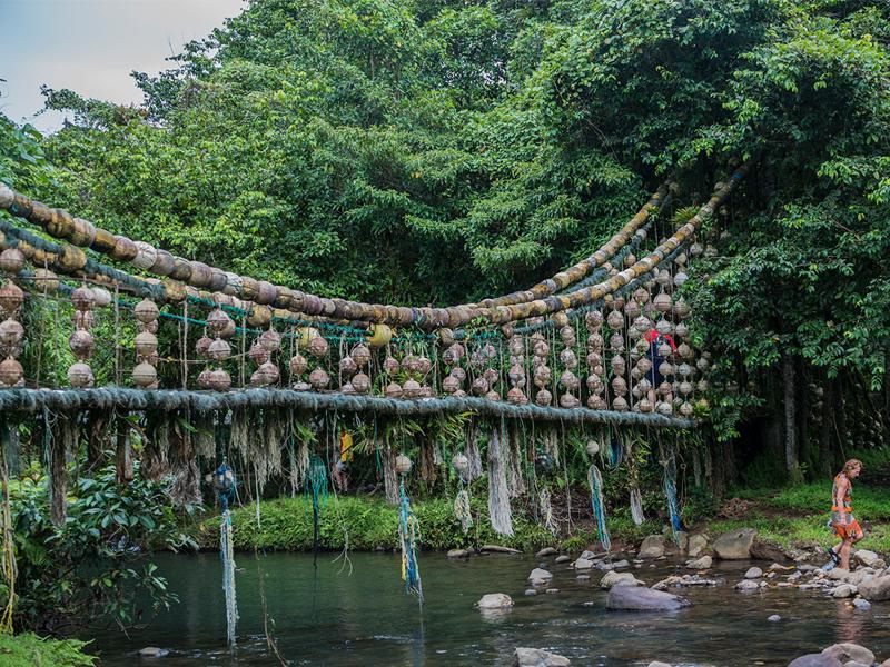 Cocos Island, El Copey bridge, Costa Rica