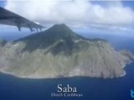 video of diving in Saba, Dutch Caribbean