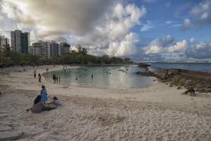 Maldives_Male_artificial beach