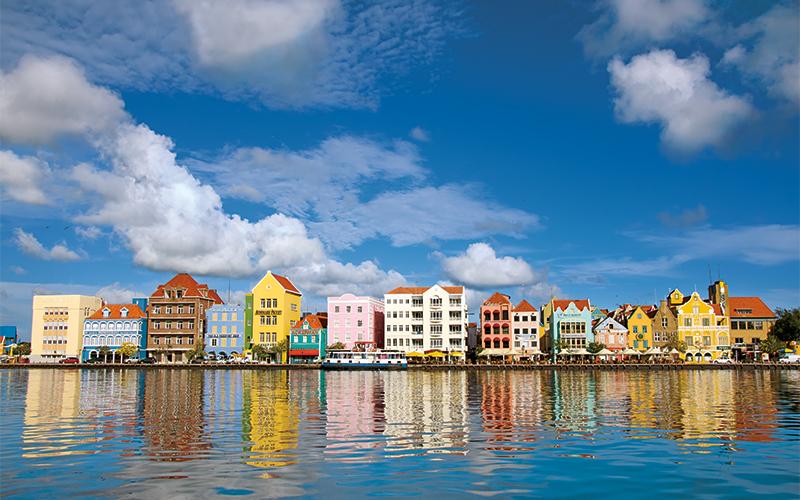 Punda, Willemstad, Penha building, Curaçao, Dutch Caribbean