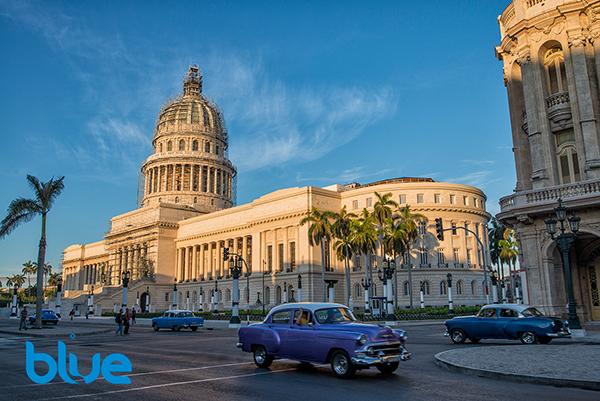 El Capitolio, Havana, Cuba, Blue magazine, Solomon Baksh