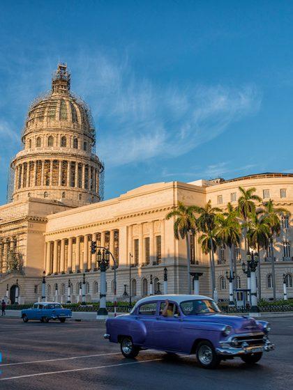 El Capitolio, Havana, Cuba, Blue magazine, Solomon Baksh, Paseo de Martí, Prado