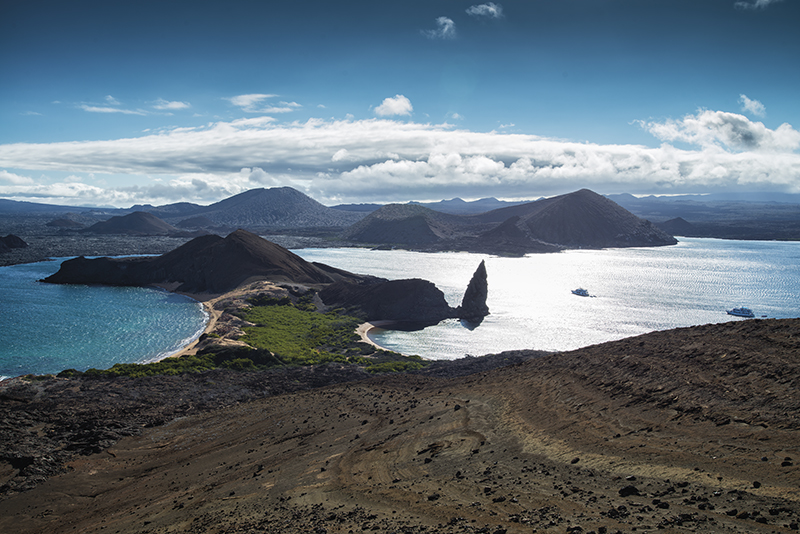 Galápagos Islands, Bartolomé, Pinnacle Rock, basalt, volcanic dome, Solomon Baksh, Blue magazine