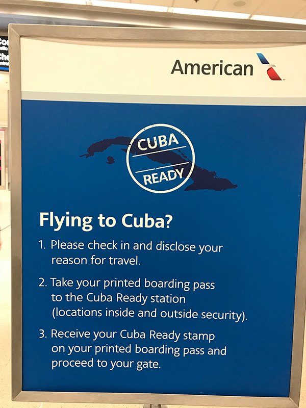 Cuba Ready, Flying to Cuba on American Airlines, Blue magazine, Solomon Baksh